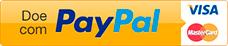 Clique para Doar com Cartão de Crédito ou saldo do PayPal.